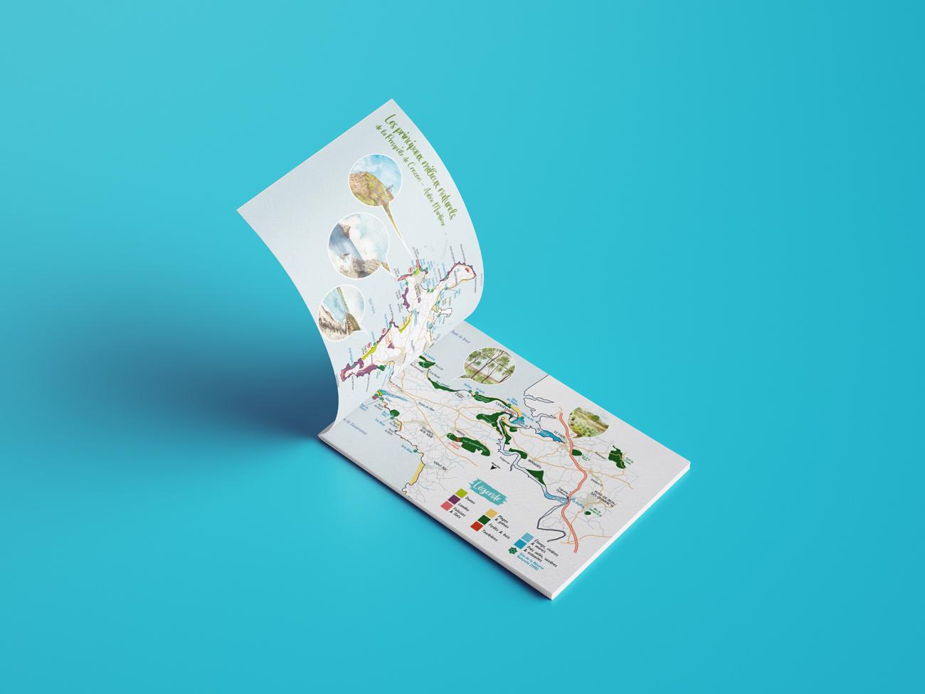 premières pages du guide découverte des espaces naturels de la presqu'île de Crozon